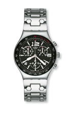 "*NEW* 2006 Swatch IRONY CHRONO Series ""UPPER STEEL"" YCS470G Watch"