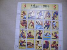 USPS Atlant Centennial Olympic Games 1996 Stamps Sheet
