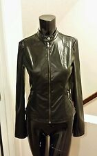 Tripp NYC Faux Leather (PVC) Punk/Goth Moto Jacket
