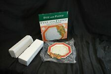 Vintage Fitz & Floyd Father Noel Cookies For Santa Plate Christmas -A7