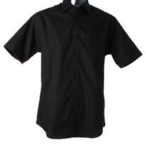 Kustom Kit Short Sleeve Men's Formal Shirts