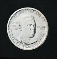 1950-S BU Choice GEM Booker T. Washington Commemorative Half~90% Silver!