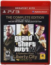 Grand Theft Auto IV Complete Collection CASE & MANUAL *NO GAME PlayStation 3 PS3