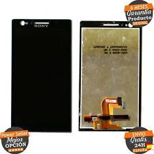 Tactil Digitalizador + LCD Sony Xperia P Lt22i Negro Original Usado