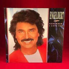 ENGELBERT HUMPERDINCK Remember I Love You 1987 vinyl LP EXCELLENT CONDITION