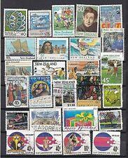 Nieuw Zeeland.....album kaart met gebruikte postzegels