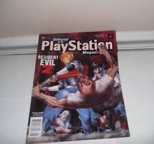 1998 Official Sony Playstation Magazine Resident Evil 2 video games guides books