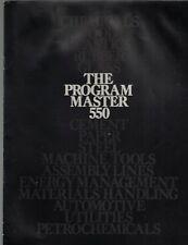 Texas Instruments- The Program Master 550 booklet TI Computing