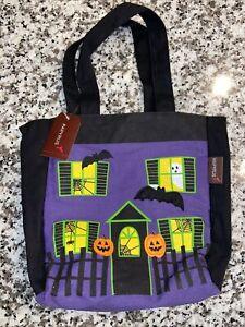 Papyrus Halloween Bag - Haunted House