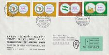 Ethiopia: 1970, Organisation of African Unity, travelled to Denmark, FDC