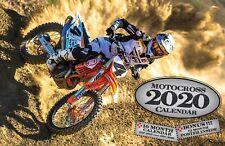 2020 MOTOCROSS DELUXE WALL CALENDAR