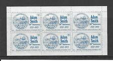 1973 Scotland Cinderella - Adam Smith 1723 -1973 blue