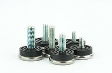 M6 M8 M10 Adjustable Feet Male Threaded Metal Stainless Steel Made in Germany