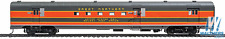 HO Scale - WALTHERS PROTO 920-9040 GREAT NORTHERN 85' ACF Baggage-Mail Car