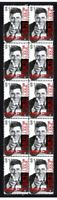 JERRY LEWIS COMEDY KINGS STRIP OF 10 MINT VIGNETTE STAMPS 3