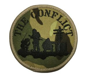 The Conflict  Hook And Loop Patch AirSoft Paintball Tactical Mil-Tec Viper