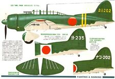 AICHI D3A VAL Type 99 Japanese Navy Dive Bomber Vintage MARU MECHANIC 34 Book