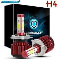 H4 HB2 9003 1500W 4 Sides LED Headlight Kit Hi/Lo Beams Bulbs White 6000K HID