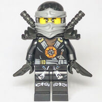 Ninjago LEGO® Cole Possession Black Ninja Minifig 70733 70738 70734 70751 Real