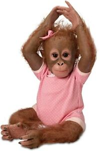 The Ashton-Drake Galleries Monkey Doll by Ina Volprich: Annabelle's Hugs