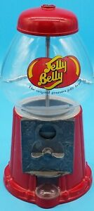 "Mini Bean Machine:  9"" Tall Metal and Glass Jelly Belly Dispenser"