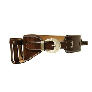 Jack Daniel's Western leather bottle holster belt (2276)