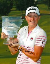Stacy Lewis signed Lpga 8x10 Nw Arkansas Trophy photo with Coa