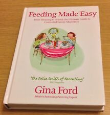FEEDING MADE EASY Gina Ford Book (Hardback) NEW