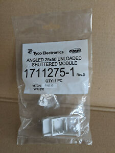 Tyco /AMP netconnect  - angled unloaded shuttered module (1711275-1)
