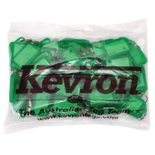 50 X Green Kevron Id5 Key Tag 56 X 30mm Id5grn50