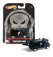 Modell 8cm PUNISHER VAN Skala 1/64 DieCast Original Hot Wheels MARVEL FLD29