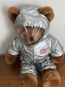 "North American Bear Astronaut Teddy Rare Vintage Retired 1984 Cub Canabearal 22"""