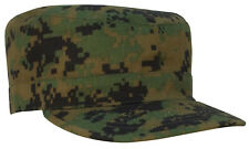 Military Style Fatigue Cap Patrol Hat Woodland Digital Camo Rothco 4524