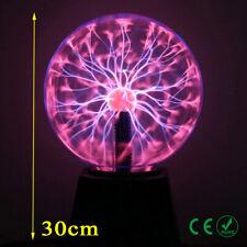 Plasmakugel 20cm+10 cm Toller Retro Lichteffekt / Magische Blitze im Plasmaball