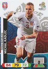 MICHAL KADLEC # REP.CZECH CARD PANINI ADRENALYN EURO 2012