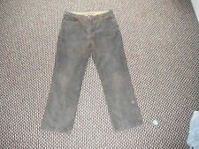 "BHS Regular Fit Cords Jeans Waist 36"" Leg 30"" Faded Brown Mens Cords Jeans"