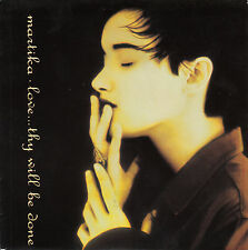 """MARTIKA  Love...Thy Will Be Done  PICTURE SLEEVE 7"""" 45 record + juke box strip"""