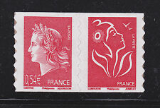 FRANCE AUTOADHESIF N°  139 ( 4109 ) P139, Paire H1 ** MNH,Marianne de Cheffer,TB