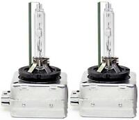 D3S 6000K HID Xenon Bulbs Set Headlight Replacement Lamps 12V 35W Crystal White