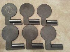 """AR500 Dueling Tree steel target DIY 6 plate kit- 6"""" plates. See Videos!"""