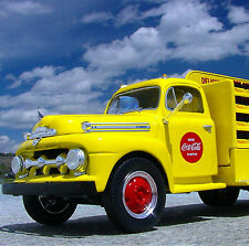 LAST FINE & MINT 1951 COCA COLA - FORD BOTTLE DELIVERY TRUCK - First Gear