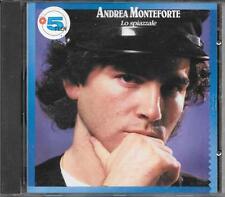 """ANDREA MONTEFORTE - RARO CD FUORI CATALOGO 1990 """" LO SPIAZZALE """""""