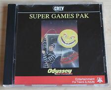 CDTV Super Games Pak (amiga, 1991, Jewel-Case)