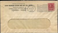 Canada 1924 COMMERCIAL Cover INGERSOLL, ON with 3c Scott #109a stamp