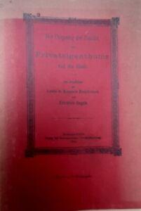 Friedrich Engels Der Ursprung der Famileie , des Privateigenthums und des Staats