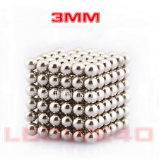 216 pcs Magnet Balls Magnetic Balls 3mm Diameter Rare Earth Neodymium No. T768
