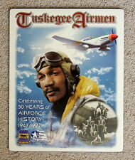 Military Tuskegee Airmen Signed Poster - Lee Archer - Black Americana