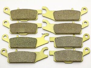 MC Front Rear Brake Pads For Yamaha Grizzly YFM 700 2007 2008 2009 2010 - 2017