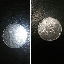 Città del Vaticano moneta 50 lire Papa Giovanni Paolo II del 1988