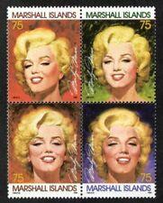 Briefmarken mit Motiven von Prominenten Marilyn Monroe